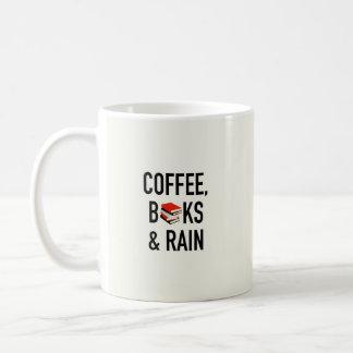 Kaffee, Bücher u. Regen Kaffeetasse