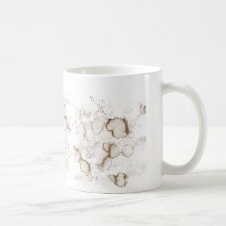 Kaffee-Fleck Kaffeetasse
