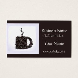 Kaffee-Gespräch Visitenkarte
