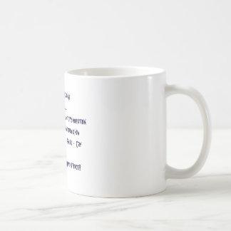 Kaffee im Frieden Kaffeetasse