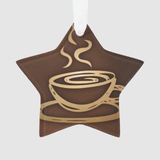 Kaffee in meiner Schale Ornament