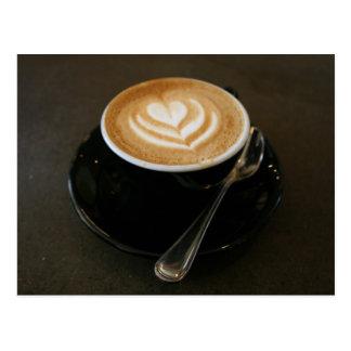 Kaffee ist Liebe - Postkarte