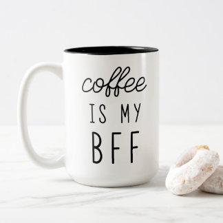 Kaffee ist meine BESTE FREUNDIN 15oz Tasse