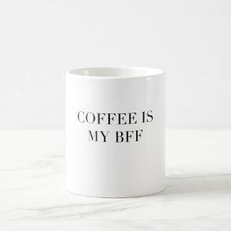 Kaffee ist meine Zitat-Kaffee-Tasse der BESTEN Tasse