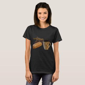 Kaffee jedermann Spaß-Damen-Shirt T-Shirt