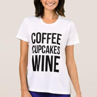 Kaffee-Kuchen-Wein T-Shirt