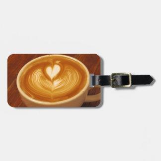 Kaffee-Liebe Kofferanhänger
