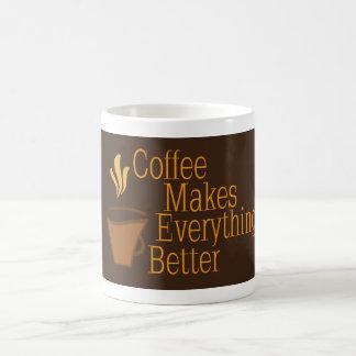Kaffee macht alles besser tasse