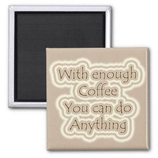 Kaffee-Magnet Quadratischer Magnet
