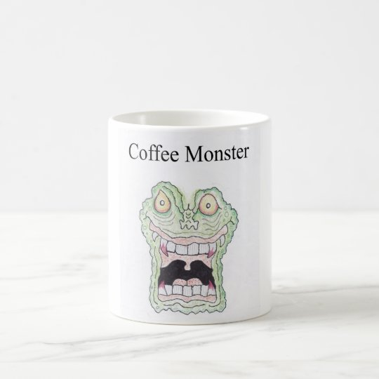 KAFFEE-MONSTER TASSE