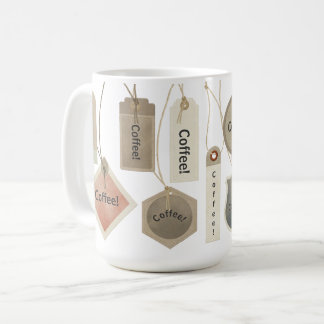 Kaffee oder irgendwelche Monogramm-Namen-Umbauten Kaffeetasse