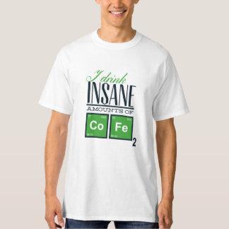 Kaffee-Spaß-Shirt T-Shirt