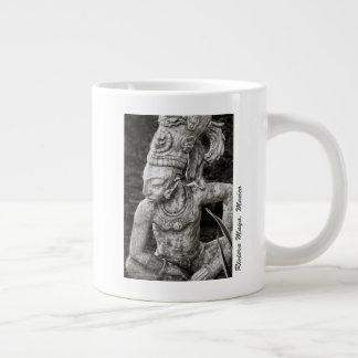 Kaffee-Tasse - alte Mayazahl - Mexiko Jumbo-Tasse