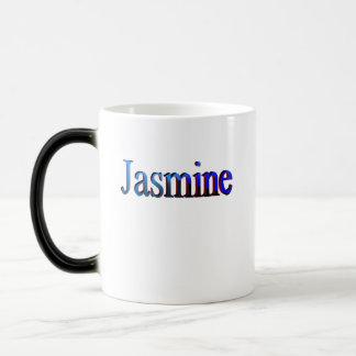 Kaffee-Tasse des Jasmins Verwandlungstasse