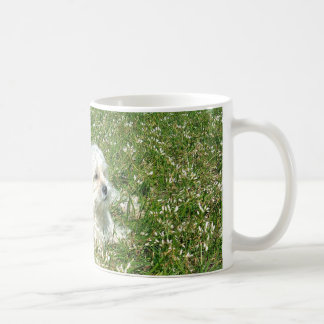 Kaffee-Tasse, die Hund kennzeichnet