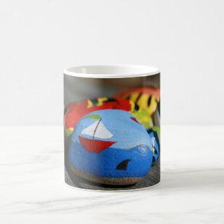 Kaffee-Tasse - gemaltes Seemann-Bild Kaffeetasse