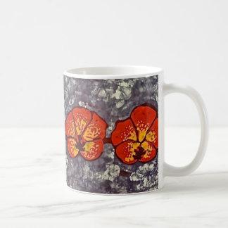 Kaffee-Tasse mit Batik-Summenvogel Kaffeetasse