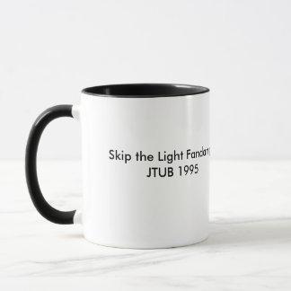Kaffee-Tasse mit Steppdecken-Foto Tasse