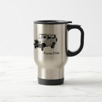 Kaffee-Tasse Toyota FJ40 Edelstahl Thermotasse