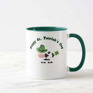 Kaffee-Tassen-Baby-Kuh Tag St. Patricks Tasse