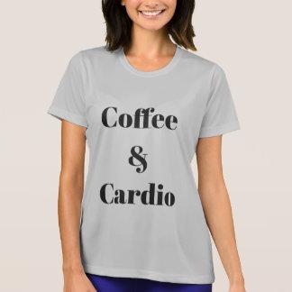 Kaffee u. Herz athletischer T - Shirt