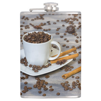 Kaffee und Gewürze Flachmann