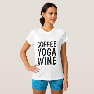 KAFFEE-YOGA-WEIN T - Shirts