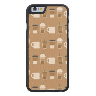 KAFFEE, ZUM dünner ZU GEHEN Ahorn iPhone 6/6s Fall Carved® iPhone 6 Hülle Ahorn