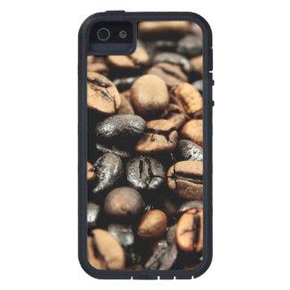 Kaffeebohne-Hintergrund iPhone 5 Etuis