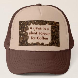 Kaffeebohnehut Truckerkappe