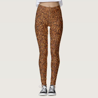 Kaffeebohnen Leggings