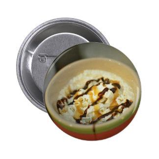 Kaffeeknopf Runder Button 5,7 Cm