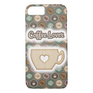 Kaffeeliebhaber-Handyfall iPhone 8/7 Hülle
