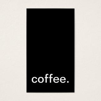 KaffeeLochkarte Visitenkarten