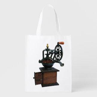 Kaffeemühle-wiederverwendbare Tasche Wiederverwendbare Einkaufstasche
