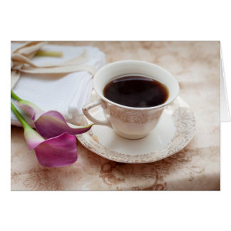 Kaffeepause Karte