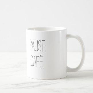 Kaffeepause-Tasse Tasse