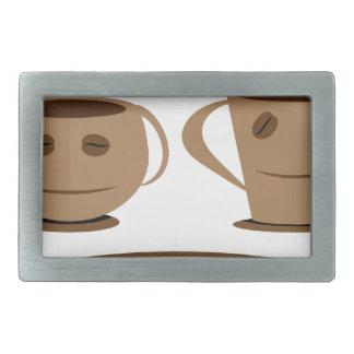 Kaffeetasse Rechteckige Gürtelschnallen