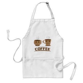 Kaffeetasse Schürze