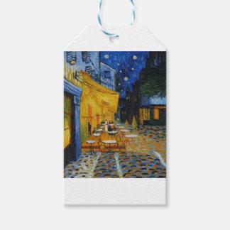 Kaffeeterrasse schadet es von Vincent van Gogh Geschenkanhänger