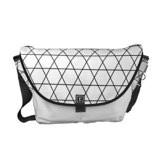 Kagome japanische Muster-Bote-Tasche Kuriertaschen