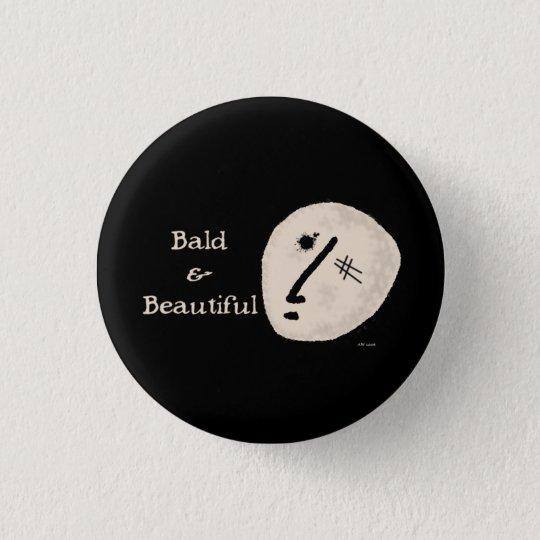 Kahl u. schön runder button 2,5 cm