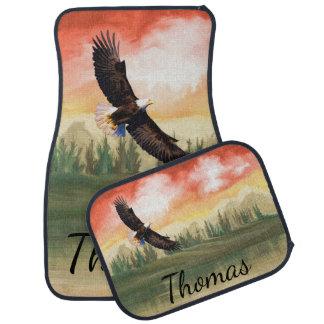 Kahler Adler Amerikas im Flug personalisiert Autofußmatte