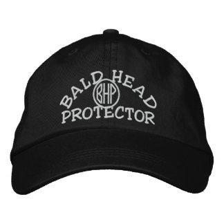 Kahlkopf-Schutz Bestickte Baseballkappen