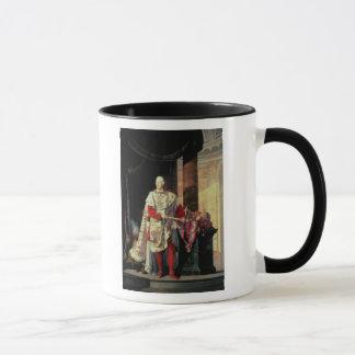 Kaiser Francis I von Österreich, 19. Jahrhundert Tasse