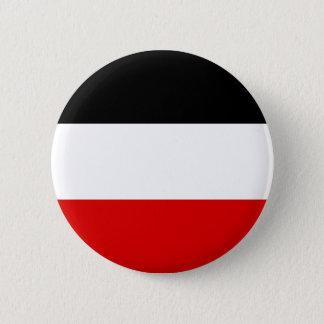 Kaiserliche deutsche Flagge - Deutsches Runder Button 5,7 Cm