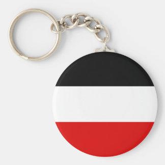 Kaiserliche deutsche Flagge - Deutsches Schlüsselanhänger