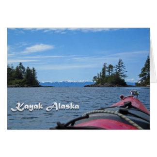 Kajak Alaska Karte