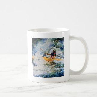 Kajak-Bild Kaffee Haferl