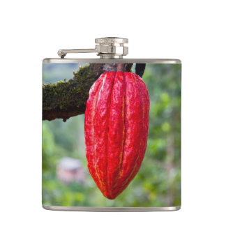Kakaohülsenrot Flachmann